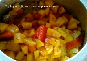The Light Indian Potato Curry
