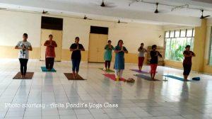 Anita Pandits Yoga Class6