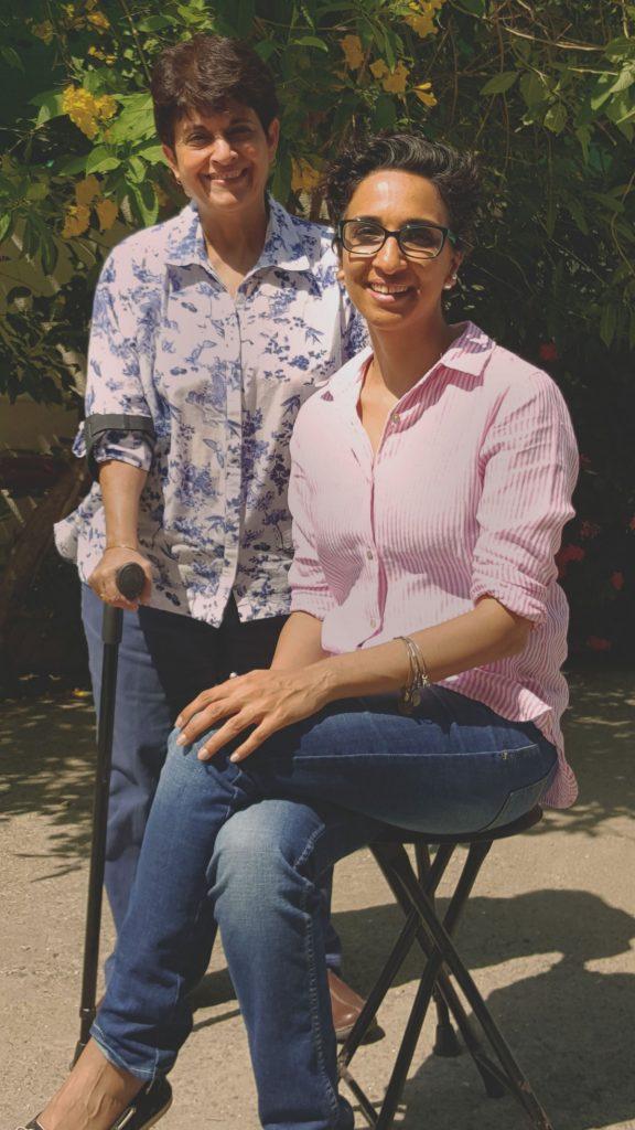Founders of Mustang Socks - Naazneen Katrak and Lubeina Shahpurwala. Photo courtesy - Forbes.com