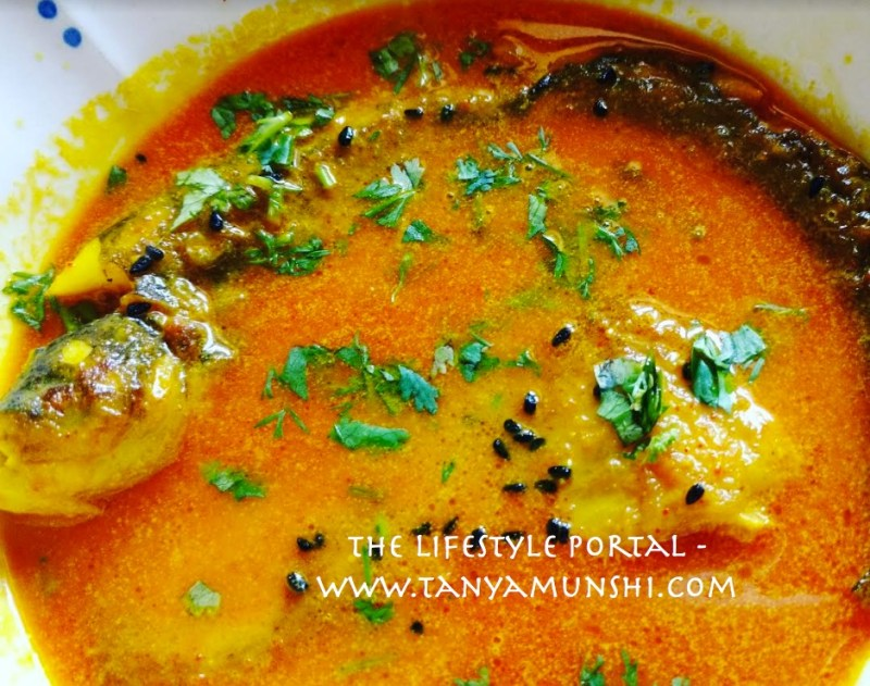 Soulful Pabda Fish Curry is ready