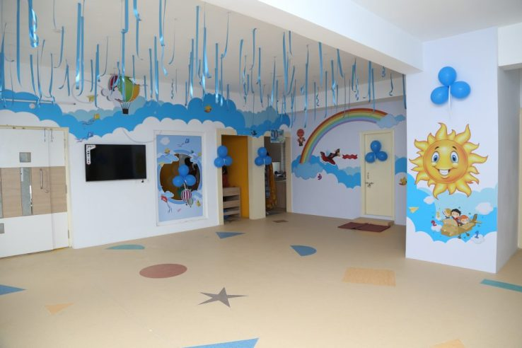 Wide open rooms, ample place for little ones to play and learn. Photo courtesy: Oi Playschool