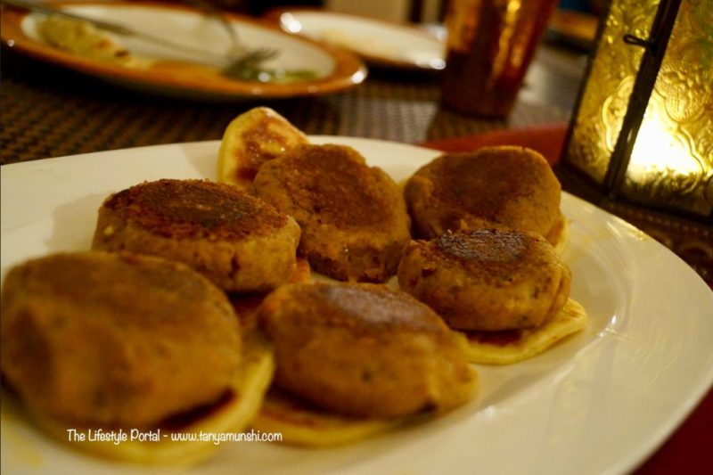 Subz ki Galwat - soft and tender tawa fried vegetable kebabs