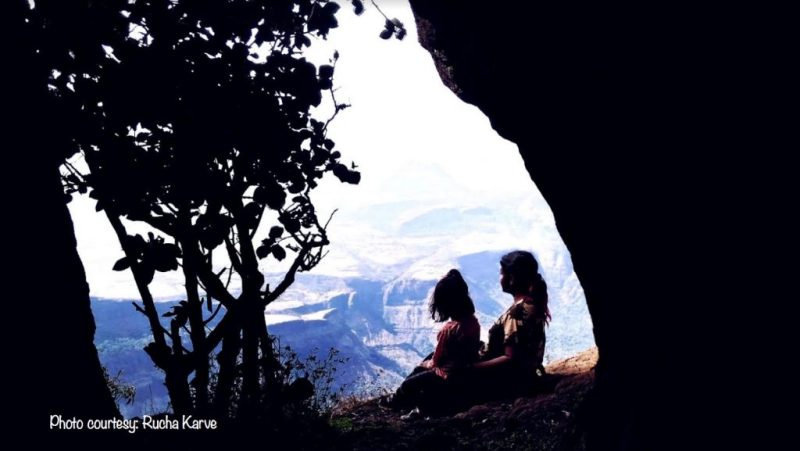 In one with nature - Rucha & Advika