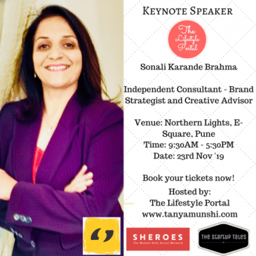 Sonali Karande Brahma, Brand Strategist and a Creative Advisor