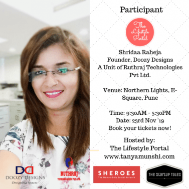 Shridaa Raheja, Interior Designer at Doozy Designs