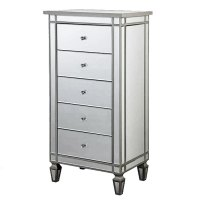 Mirrored Lingerie Chest Dresser TMF629745