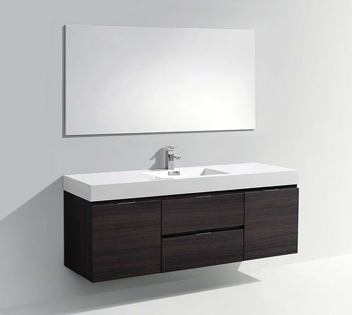 drake 60 single sink bathroom vanity available in other finishes