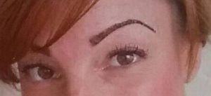 Permanent Makeup Eyebrow After 2 Weeks