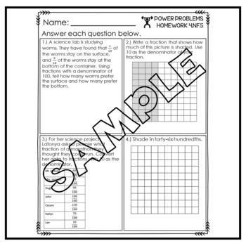 4th Grade Math Word Problems Homework Printables Math Word