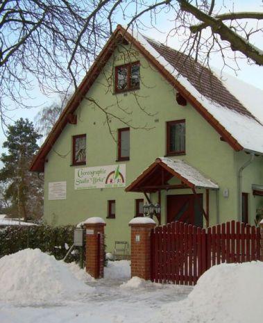 Choreographie-Studio Birke im Winter