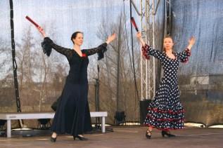 Flamenco Tanz Auftritt in Oranienburg