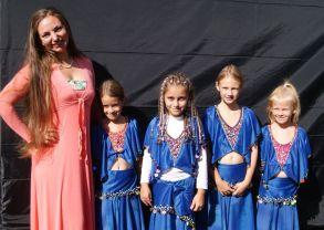 Olga mit ihren Bunten Strahlen
