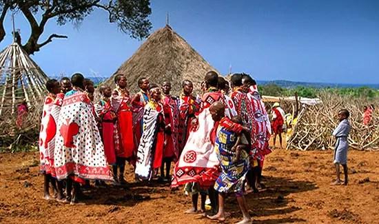 Mariage Masaï Tanzanie