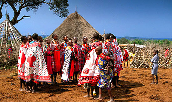 Safari tanzanie voyage Zanzibar. Mariage Masaï Tanzanie