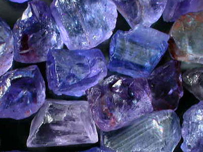 Tanzanite Rough