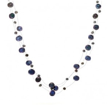 Choker with Black Pearls