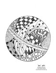 Image of a ball to color