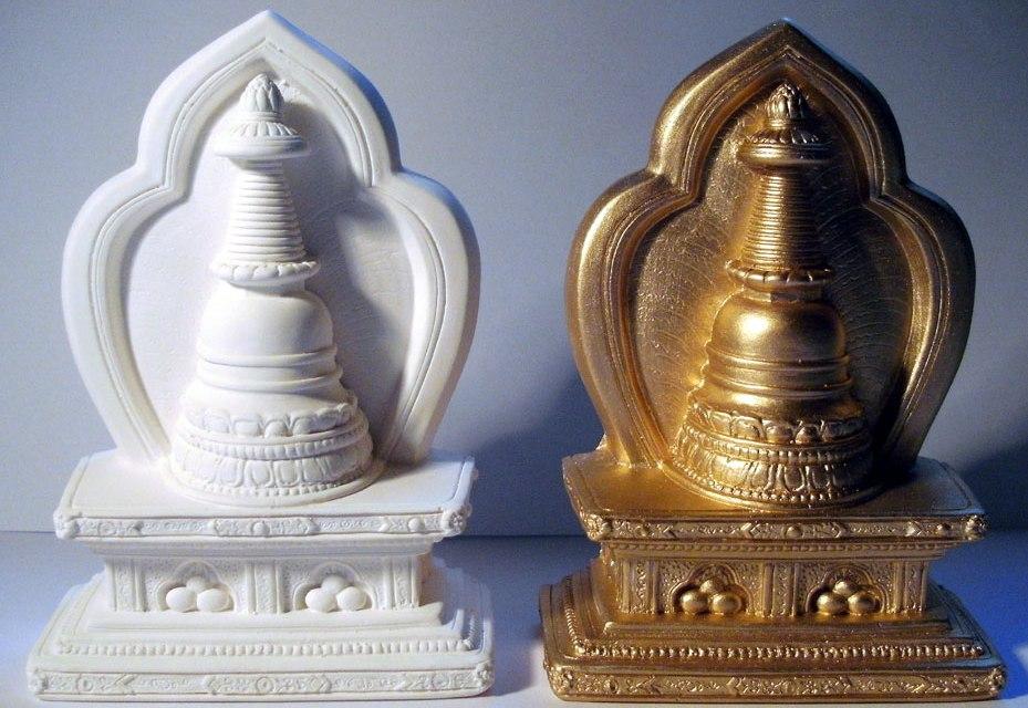 Die Buddhawerkstatt – Tibetische Tsatsas im Ruhrgebiet