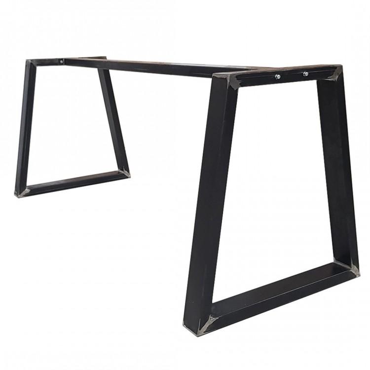 pied de table noir mat
