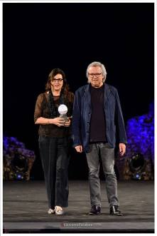 Il premio a Piero e Miriam Cividini