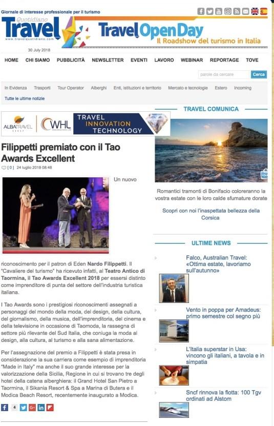Filippetti premiato con il Tao Awards Excellent (2018-07-30 10-32-42)