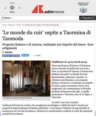 Moda-'Le monde du cuir' ospite a Taormina di Taomoda (2018-07-29 20-22-59)