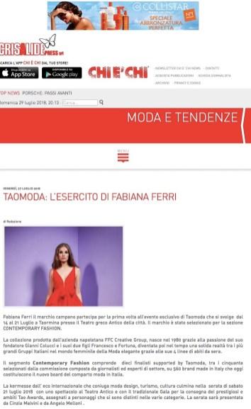 TAOMODA-L'ESERCITO DI FABIANA FERRI - Chi è Chi Online (2018-07-29 20-13-42)