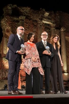 Il premio del Consiglio degli Architetti al designer di Kartell Ferruccio Laviani e al vincitore della sezione Talent Design Pierluigi Piu