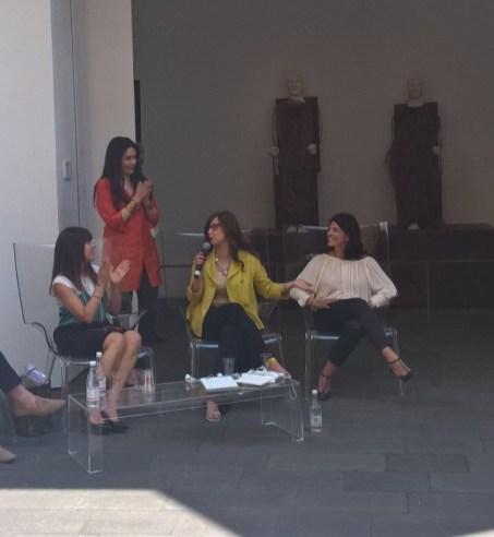 Agata Patrizia Saccone con Brenda Bizzi, Josephine Pace e Francesca Catalano