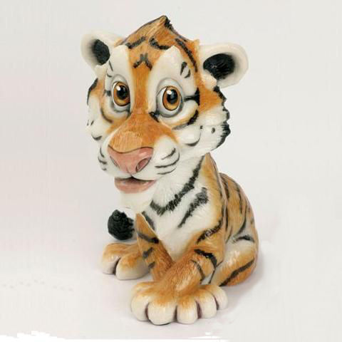Cassie the little Tiger Cub collectable critter at Taos gifts