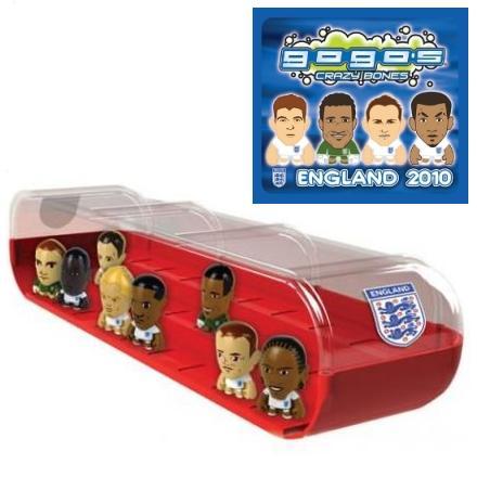 England 2010 GoGo's Crazy Bones Dugout