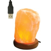 Natural USB Colour Changing Himalayan Salt Lamp