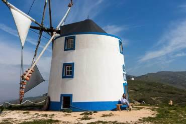 moinhos de vento em portugal