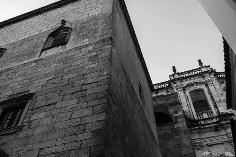 A envolvência da Sé Catedral de Évora