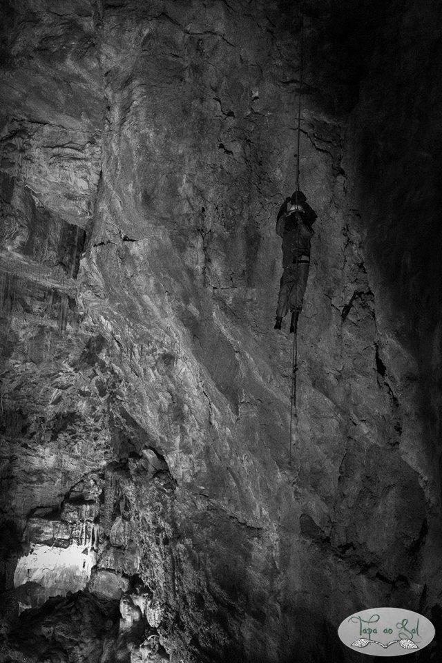 Explorador da gruta