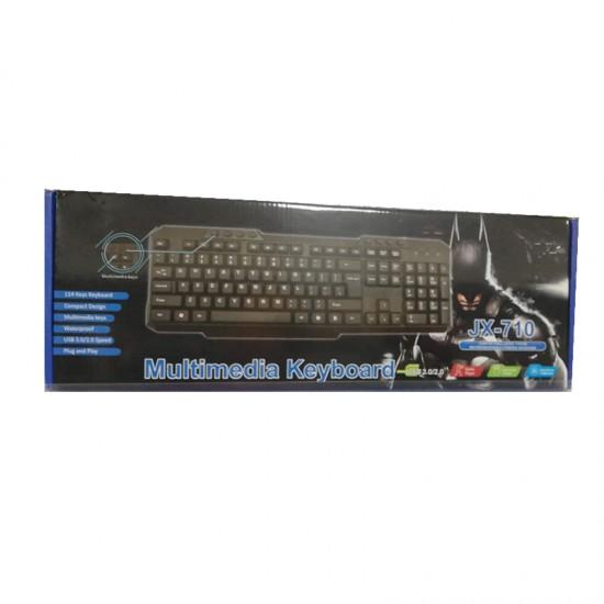 Ενσύρματο Gaming πληκτρολόγιο - JX-710