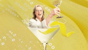 Meryl Streep cóctel