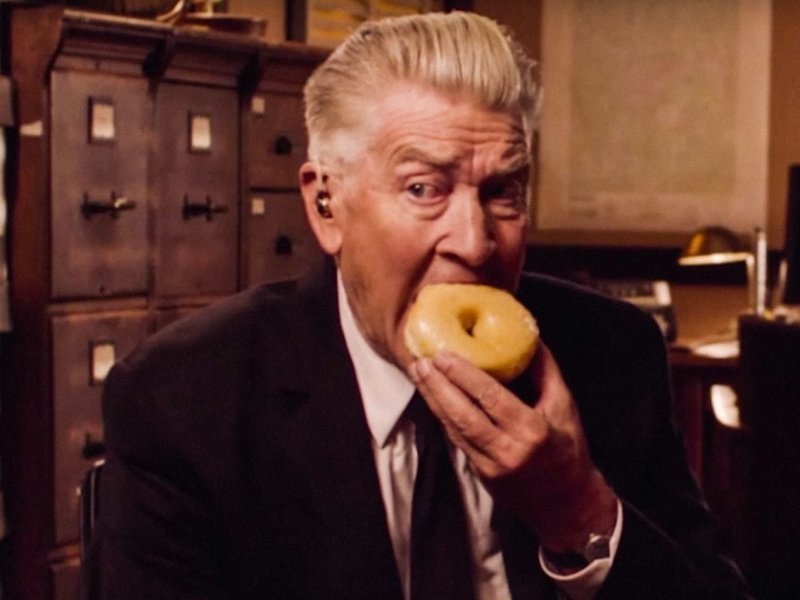 David Lynch donuts