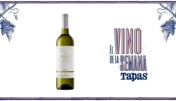 Botella de vino Celeste verdejo 2019