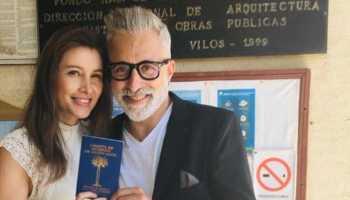 Sergi Arola se casa por sorpresa con su novia Francisca Laree