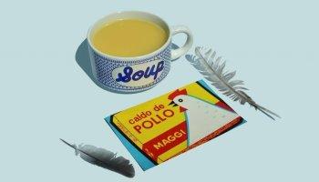Packagings del pasado - caldo maggi