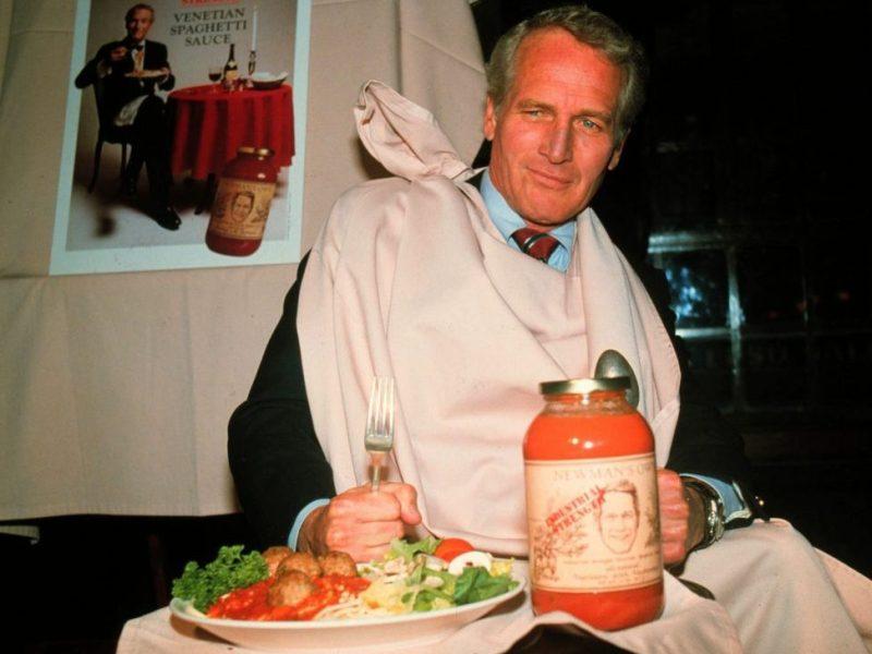 Paul Newman y su salsa Newman's Own