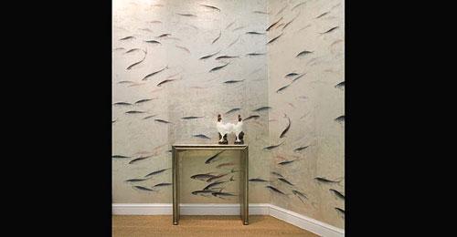 exclusive Tapeten  handgemalte Wandbilder online kaufen