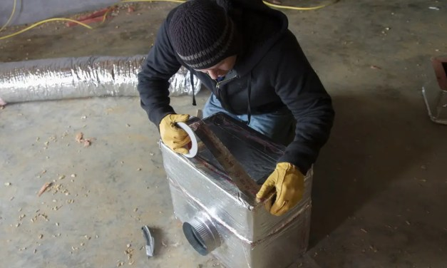 How can weather impact HVAC tape performance?