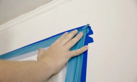 How are painter's tape and masking tape used in abatement?
