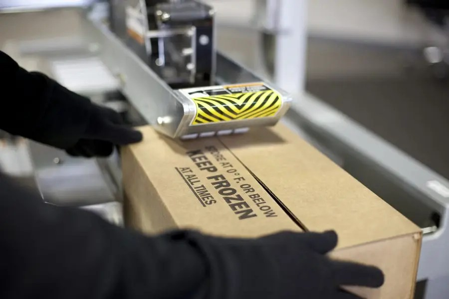 Why won't packaging tape stick in cold temperatures?