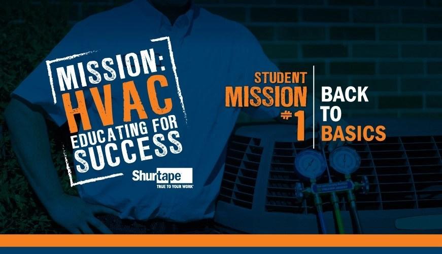 Mission: HVAC 2019 – Mission One: Back to Basics