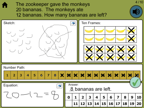 small resolution of Math Word Problems - iPad Apps for Kindergarten - Grade 3 designed by  experts