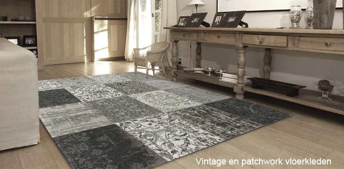 Vintage  Patchwork  Karpetten  vloerkleden online