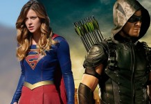 Nova imagem mostra Supergirl e Green Arrow